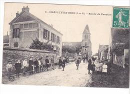 25393 CHAILLY EN BRIE - Route De Provins  -8 Ed , Enfant Ecole ? - France