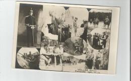 MILITAIRE MARCEL VELLAS CAMPAGNE 1914 15 16 CARTE PHOTO MULTI VUES DU FRONT - Weltkrieg 1914-18