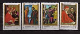 Manama **- 1970 - Tableaux De Michel-Ange. . MNH - Neuf.   Vedi Descrizione - Manama