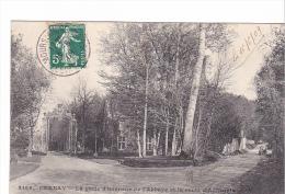 25394 CERNAY La Grille D´honneur De L´abbaye Et La Route D´Auffarais -2168 Malcuit Paris
