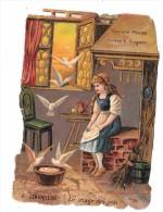 8286 Découpi  CHOCOLAT POULAIN  CENDRILLON N° 6 - Découpis
