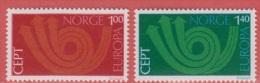 1973 ** (sans Charn., MUH, Postfris)  Yv  616/7Mi  660/1  NHK  708/9 - Unused Stamps