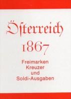 Handbuch 1867 Erste Serie Österreich Antiqu.180€ Klassik Freimarke Kreuzer Und Soldi-Ausgaben Catalogue Stamp Of Austria - Books, Magazines, Comics