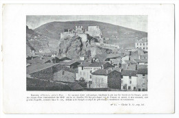 ESPALY SAINT MARCEL (Hte Loire) Environs Du PUY - Le Rocher Saint Joseph - Distillerie Maurin Quina - Publicité - Autres Communes