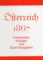 Handbuch 1867 Erste Serie Österreich Antiqu.180€ Klassik Freimarke Kreuzer Und Soldi-Ausgaben Catalogue Stamp Of Austria - Badges