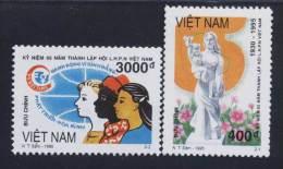 Vietnam Viet Nam MNH Perf Stamps 1995 : 65th Anniversary Of Founding Vietnamese Women's Union (Ms712) - Vietnam