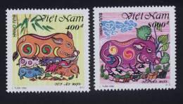 Vietnam Viet Nam MNH Perf Stamps 1995 : Year Of The Pig (Ms698) - Vietnam