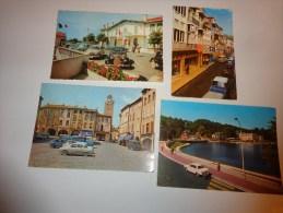 Lot De Carte-voiture Ancienne 404-volswagen-citroen-2cv-aronde Etc.... - Cartes Postales