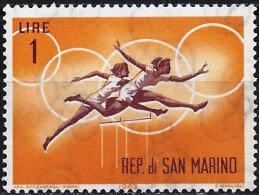 San Marino 1963 - Tokyo Olympics : Hurdle-race ( Mi 782 - YT 605 ) MNH** - Summer 1964: Tokyo