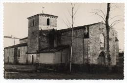 """SAINT  LAURS--env 1950-60--l´église ,cpsm 9 X 14 éd """"Véronique"""" à Niort.......à Saisir - France"""