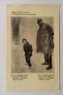 Simpatie Per I Belgi Illustrata  Viaggiata F.grande - Belgio