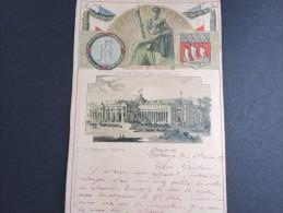 CARTE - Exposition Universelle Au Grand Palais à Paris  écrite En 1903 - A Voir - Lot P13117 - Vieux Papiers