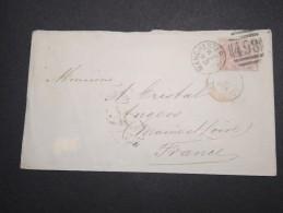 GRANDE BRETAGNE - Enveloppe De Manchester Pour La France En 1878 - A Voir - Lot P13125 - Lettres & Documents