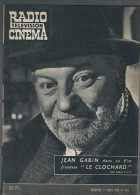 Radio Télévision Cinéma N°476 Jean Gabin Dans Le Clochard - Jean Renoir - Ballon Rouge De 1959 - Kino