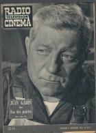 Radio Télévision Cinéma N°512 Jean Gabin Dans Rue Des Prairies - Jean-Claude Brialy De 1959 - Kino