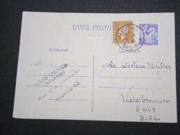 FRANCE - Entier Postal De Haguenau Pour Niederbronn Les Bains En 1945 - A Voir - Lot P13130