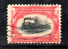 Y1223 - STATI UNITI USA 1901   , 2 Cent Yvert N. 139 Usato . Expo Buffalo - Used Stamps
