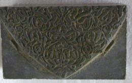 Ancien Tampon Imprimerie Plomb Décoration - Other Collections