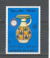 MAROC 1982 YT 924  POTERIE,  SEMAINE DE L AVEUGLE - Maroc (1956-...)