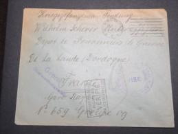 FRANCE - Enveloppe Pour Un Prisonnier Allemand Au Dépot De La Lande En 1916 - Cachet Vérifié - A Voir - Lot P13132