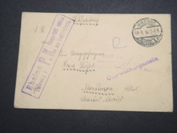 FRANCE - Enveloppe Pour Le Dépot De Prisonniers à Montlucon 1916 - A Voir - Lot P13134