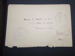 FRANCE - Env. Du Détachement De Prisonniers De Brigneux Pour Le Dépot De Prisonniers à Romans 1916 - A Voir - Lot P13135