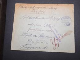 FRANCE - Env. Pour Le Dépot De Prisonniers à Yzeure En1916 - A Voir - Lot P13136