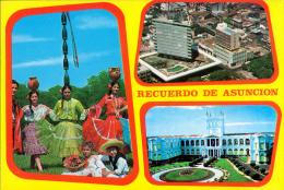 POSTAL RECUERDOS DE ASUNCION PARAGUAY - Paraguay