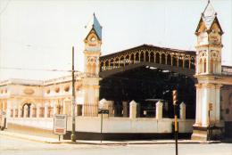 POSTAL ESTACION CENTRAL DEL FERROCARRIL ASUNCION PARAGUAY - Paraguay