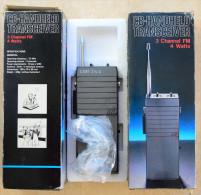 2 Walkie-Talkie Handfunkgeräte, 199X, CB-Transeiver - Alt - Siehe Bilder - Wissenschaft & Technik
