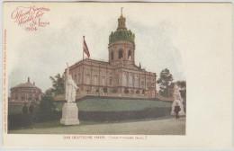 US Unused Postalcard With Das Deutsche Haus During The 1904 World Fair In St. Louis