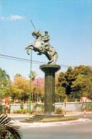 POSTAL PARAGUAY - ESTATUA MARISCAL FRANCISCO SOLANO LOPEZ ASUNCION - Paraguay