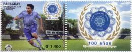 ESTAMPILLA PARAGUAY 100 AÑOS CLUB ORIENTAL SALVADOR CABAÑAS 1914-2014 - Paraguay