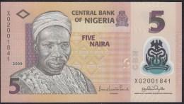 Nigeria 5 Naira 2009 P38 UNC - Nigeria