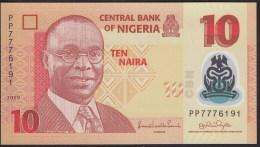 Nigeria 10 Naira 2009 P39 UNC - Nigeria