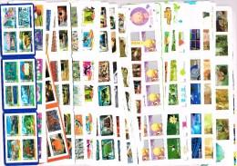 """FRANCE - Ensemble de 480 timbres """"lettre prioritaire 20 gr."""" en carnets autocollants (FACIALE : 364,80�) TB."""