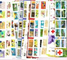"""FRANCE - Ensemble de 332 timbres """"lettre verte 20 gr"""" en carnets autocollants (FACIALE : 225,76�)"""