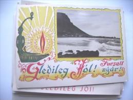 IJsland Iceland Island Gledileg Jol Olavsvik - IJsland