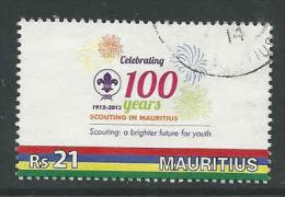 Mauritius, Yv 1157 Jaar 2012,  Hoge Waarde, Gestempeld, Zie Scan - Maurice (1968-...)