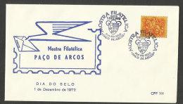 Portugal cachet comm�moratif  Journ�e du Timbre Expo 1972  Pa�o de Arcos event postmark Stamp Day