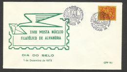 Portugal cachet comm�moratif  Journ�e du Timbre Expo 1972  Alhandra event postmark Stamp Day