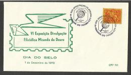 Portugal cachet comm�moratif  Journ�e du Timbre Expo 1972  Miranda do Douro event postmark Stamp Day