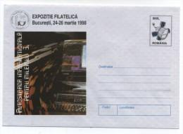 Romania COMPUTER PHILATELIC EXPOSITION COVER 1998 - Computers