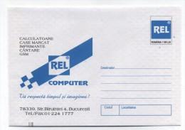 Romania REL COMPUTER ADVERTISING COVER 1999