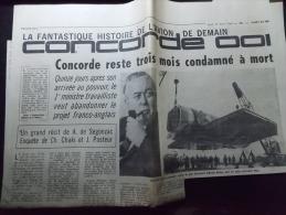Coupure de Presse Offre PROMO sur Ce Lot Concorde 001 Reste 3 mois condamn� � mort