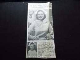 Coupure de Presse Offre PROMO sur Ce Lot Ingrid Bergman La Fleur de Cactus Au Cinema
