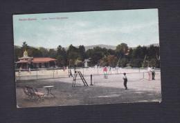 Vente Immediate AK Baden Baden - Lawn Tennis Spielplatz ( Colorisée Partie Tennis Sport Schaar Und Oathe ) - Baden-Baden