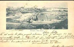 RUSSIE RUSSIA CP TAGANROG LES ENVIRONS DU PORT EN 1899 VERS HOUDENG - Covers & Documents