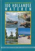"""Nederland - """"Shell Helpt U Op Weg"""" - 100 Hollandse Wateren -  Deel 3 - Nieuw Exemplaar - Toeristische Brochures"""