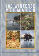 """Nederland - """"Shell Helpt U Op Weg"""" - 100 Winterse Vermaken -  Deel 6 - Nieuw Exemplaar - Toeristische Brochures"""